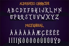 HELLOGHOST - Helloween Theme Font Product Image 4