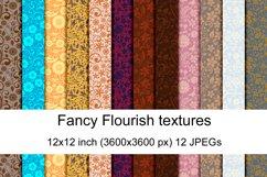 Fancy Flourish seamless textures Product Image 1