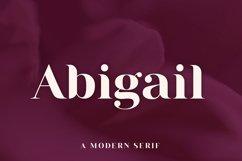 Abigail | A Modern Serif Product Image 1