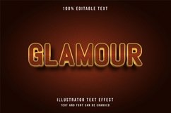 Glamour - Text Effect Product Image 1