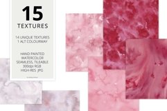 15 Huge Seamless Pink & Grey Watercolor Textures Product Image 2