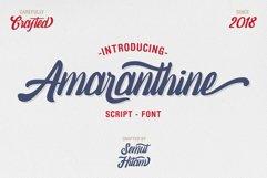 Amaranthine Script Font Product Image 1
