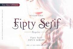 Fipty Serif Font Family Product Image 1