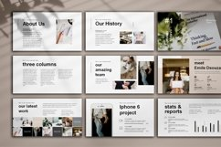 Minimal Presentation, PowerPoint Product Image 2