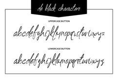 De Black Typeface Product Image 4