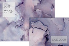 7 Huge Seamless Purple Alcohol Ink Textures Product Image 4
