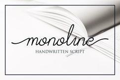 Afrida - monoline script font Product Image 1