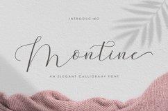 Montine Script Product Image 1