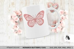 Monarch Butterfly SVG Stacked Butterfly Svg,3D Product Image 3