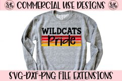 Wildcats Pride SVG DXF PNG Product Image 1