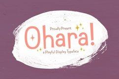 Web Font Ohara Product Image 1