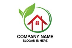Eco House Logo Design Vector Product Image 4