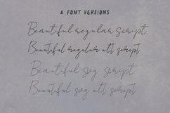 Beautiful SVG Script Font Product Image 2