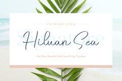 Hiluan Sea - Beautiful & Casual Script Typeface Product Image 1