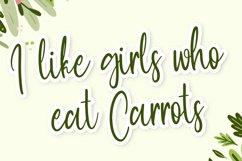 Hangout - Cute Script Font Product Image 4