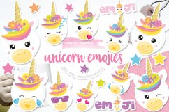 Unicorn emojis Graphics and illustrations, vecto Product Image 1