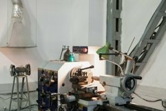 Turning lathe in the workshop. Metalworking Product Image 1