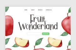 Web Font Apple Pie Product Image 3