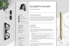 Creative Resume Template, CV Template, Resume Template Word Product Image 1