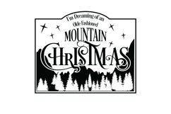 Mountain Christmas Svg Cut File Product Image 2