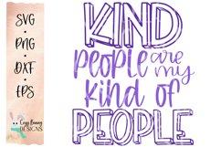 Kind People are my Kind of People SVG - Kindness SVG Product Image 2