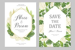 Wedding invitations set #3 Product Image 5