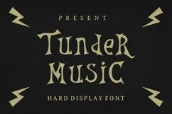 Web Font Thunder Music Font Product Image 1