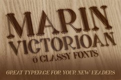 Marin - Victorian Font Product Image 4