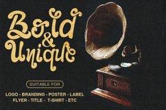 Retro Font - The Foughe Script Product Image 4