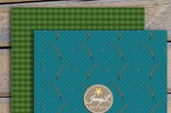 Fishing Digital Papers and clipart SET Product Image 4