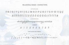 Mujaerald Font Product Image 5