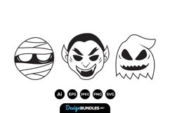 Simple Halloween Illustrations Product Image 1