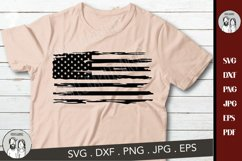 American flag distressed, Distressed USA Flag svg, Product Image 1