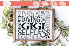 Gigi Subway Art SVG, PNG, DXF, EPS Product Image 1