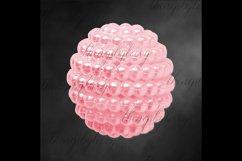 100 Pearl Pomander Digital Clip Art Jewelry Pearl Ball Image Product Image 3