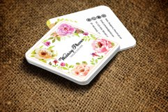 Wedding Decorator Small Business Card Product Image 3