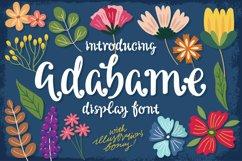 Adabame Font Product Image 1