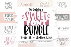 The Sweet Font Bundle - 14 Fun & Quirky Fonts Product Image 1