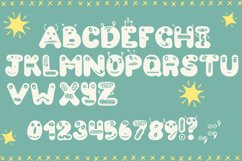 Cute Monsters – A Spookily Cute Halloween Font Product Image 4