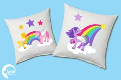 Magical Unicorns clipart, graphics and illustrations AMB-160 Product Image 3