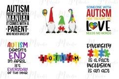 Autism Quotes svg bundle Product Image 4