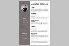 Creative resume template / CV. Bundle offer Product Image 6