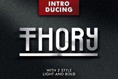 Web Font Thory Typeface Product Image 1