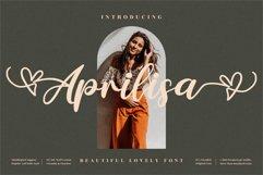 Aprilisa - Beautiful Script Font Product Image 1