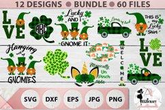 St Patrick's Day Bundle, Ireland, Irish, Shamrock, Gnome SVG Product Image 1