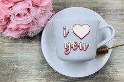 Valentine's Day Saying SVG Bundle | Retro SVG Sayings Product Image 4