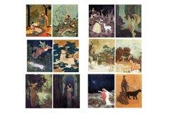 Edmund Dulac Vintage Fairy Tale Images 2 Journal Art PDF Product Image 4