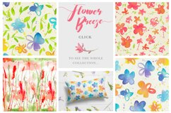 Flower Breeze - Seamless Patterns Product Image 5