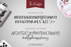 The Rockstar Font Duo Product Image 6