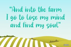 Farm Days Out - A Cute Handwritten Font. Product Image 4